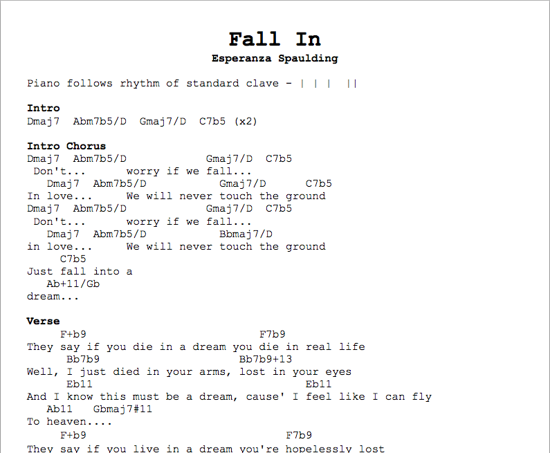 Fall In Chords Jim Kulakowski Composer Sound Designer