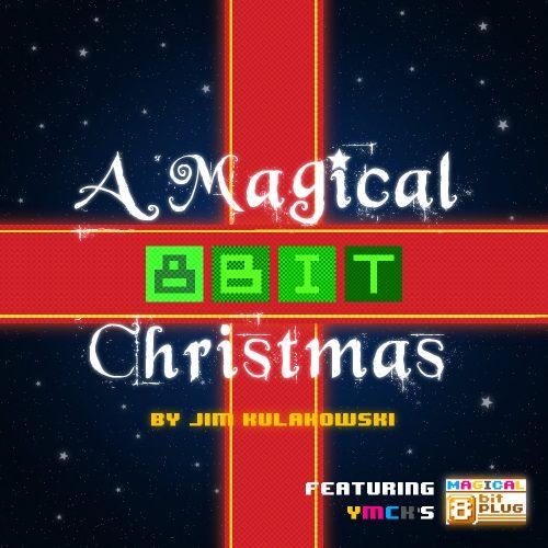 A Magical 8-Bit Christmas Album Cover